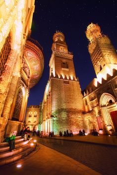 Old Cairo, Egypt. Would love to see the sights there. Especially the pyramids.