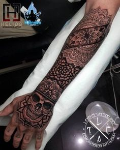 Mandala/dotwork/geometric hand and forearm tattoo insta: For all bookings an enquiries contact directly at Fb: /leighstca H Tattoo, Maori Tattoos, Tattoo Main, Forarm Tattoos, Forearm Tattoo Men, Body Art Tattoos, Tattoo Shop, Mandala Tattoo Design, Dotwork Tattoo Mandala