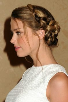 "The ""Ladies Who Brunch"" Braid, hair care tips via @DiscoverSelf"