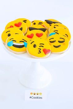 Emoji Cookies - Emoj