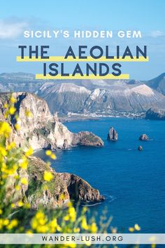 Travel Guide for the Aeolian Islands, Sicily A complete guide to the Aeolian Islands – including Sicily Travel, Italy Travel Tips, Europe Travel Guide, Travel Guides, Europe Destinations, Stromboli, Travel Advice, Travel Vlog, Travel Channel
