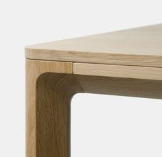 "tom-bril: ""Nora Table by StokkeAustad "" - Wood Works Wooden Furniture, Cool Furniture, Furniture Design, Furniture Buyers, Furniture Outlet, Furniture Stores, Joinery Details, Wood Joints, Wood Detail"