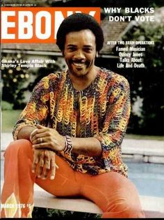 From Ironside to Michael Jackson - Quincy Jones on the cover of Ebony magazine, March 1973.
