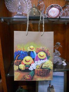 pintado papel bolsas motivos 2012 asas para acrilicos ecologico las artesanales soga peruanos ecologicas a mano TqTxw4R
