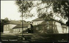Vestfold fylke TØNSBERG, Foyngaarden. Nærbilde Utg Georg Mathisen, postgått 1926
