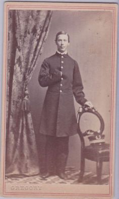 CDV of Captain's Clerk Joseph Foster in Collectibles, Militaria, Civil War (1861-65), Original Period Items, Photographs | eBay