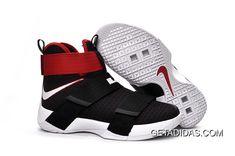 Nike Lebron Soldier 10 Mens White Red Black TopDeals 932ebd66c9