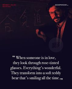 12 Quotes From Netflix's Money Heist That Will Steal Your Heart Best Movie Quotes, Film Quotes, Book Quotes, True Quotes, Qoutes, Berlin Quotes, Best Movie Lines, Look Rose, Best Urdu Poetry Images