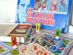 Vintage Game  Six Million Dollar Man  Parker by NehiandZotz, $15.00