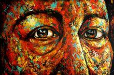 Una vida en una mirada Mixta sobre lienzo 90x60 cm autor Diana Francia G O Diana, Saatchi Art, Original Paintings, The Originals, Canvas, Art Styles, Expressionism, Canvases, France