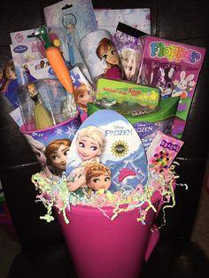 Frozen Filled Easter Basket by GingerellasBows on Etsy