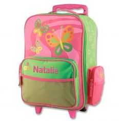 Butterfly Rolling Luggage  by Stephen Joseph®