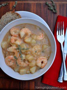 Cajun Shrimp Stew - Emeril's Sizzling Skillet Style | Farmgirl Gourmet
