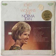 Norma Jean Love's A Woman's Job LP Vinyl Record