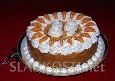 Jablečný dort s mandarinkami