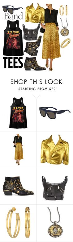 """Untitled #2324"" by moestesoh ❤ liked on Polyvore featuring CÉLINE, Sonia Rykiel, Comme des Garçons, Chloé, Marc Jacobs, Tory Burch, Konstantino and Tiffany & Co."