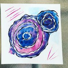 766C264D-66BA-44CB-97C3-6154C65D21C0 Paint Pens, Watercolor Paper, Ink, Frame, Creative, Artwork, Cards, Painting, Picture Frame