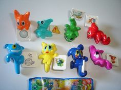 KINDER-SURPRISE-SET-ALIENS-MONSTERS-WITH-IMAGES-2007-FIGURES-TOYS-COLLECTIBLES