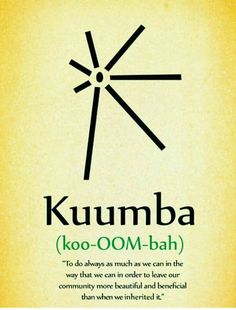 Kuumba: Creativity To do always as much as we can, in the way we can, in order to leave our community more beautiful and beneficial than we inherited it. The Words, Cool Words, Id Digital, Kwanzaa Principles, African Words, Happy Kwanzaa, Word Of The Day, Meditation, Word Porn