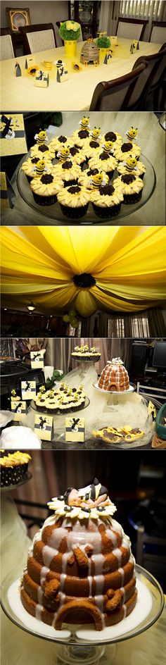 Bumble Bee and Sunflower Baby Shower