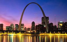 Gateway Arch, St. Louis - If you visit St. Louis, then the arch is an absolute must. Take a short ride on the tram to see for miles in each direction.