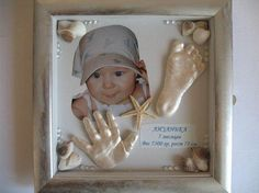 DIY Baby Hands and Feet Decoration
