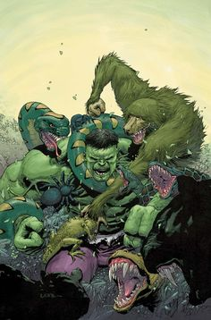 Incredible_Hulk by Leinil Francis Yu