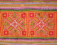 Ethnic Cross stitched by TaTonYon on Etsy