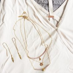 Downtown Campbell: Brunch outfit? New necklaces in the works  by ps.jewelrydesigns
