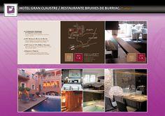 IDENTIDAD CORPORATIVA LA MAMBA NEGRA  Hotel Gran Claustre:  Diseño e impresión tríptico.  Álbumes web de Picasa.  CONTACTO:  977 65 23 48 - 660 051 068  lamambanegraltafulla@gmail.com  C/ Marqués de Tamarit, 3C  43893 - Altafulla - Tarragona - España