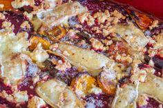 Štrúdl, který můžete péct i několik dní po sobě - Spicy Crumbs Polenta, Sausage, Spicy, Meat, Food, Sausages, Essen, Meals, Yemek