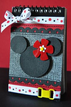 mini disney autograph book