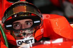 Jules Bianchi 2013 - Front View - Image rights and ownership are of the Marussia F1 team and courtesy of F1 site F1 Fanatic.