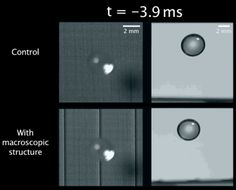 Water-repellant surface so efficient that drops bounce back off | Ars Technica
