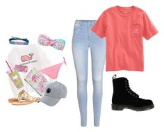 """""""Vineyard Vines"""" by djg-87 ❤ liked on Polyvore featuring Dr. Martens, H&M and Vineyard Vines"""