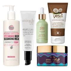 The best skincare routine for dry skin | Look for hydrating ingredients like hyaluronic acid and natural oils to keep skin from drying even more. Incorporating a moisturizing serum to your daily routine will make your skin look and feel much more hydrated than using only a face cream. #facecreamsbest