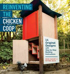 <DIV><P>Backyard chickens meet contemporary design! Matthew Wolpe and Kevin McElroy give you 14 complete building plans for chicken coops that range from the purely functional to the outrageously fabulous. One has a water-capturing roof; one is a great...