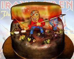 Eddie form Iron Maiden cake