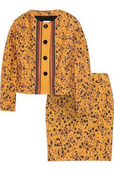 M MISSONI  Printed wool-blend skirt suit