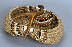 My baskets are woven in Oregon's Willamette Valley and the main focus of my art is using naturally shed antlers from deer, elk, moose, caribou and reindeer.