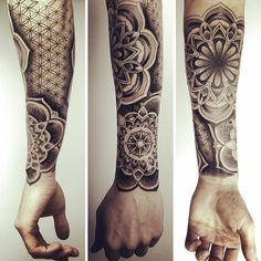 Kurz vor Feierabend... #tattoo #tattoos #mandala #mandalatattoo