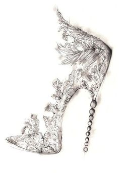 Shoe Designers Sketch for the Royal Wedding | HighHeelsDaily.com - High Heels | Stilettos | Pumps | Celebrity Shoes