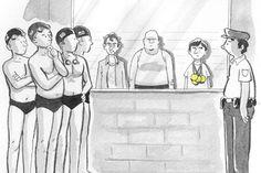 Cartum da New Yorker sobre nadadores dos EUA ganha correçao – viu isso? - Blue Bus