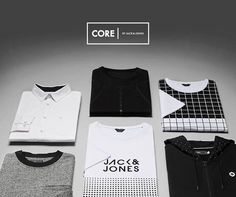 Easy picks from CORE by JACK & JONES. Graphic. Sharp. Ready.