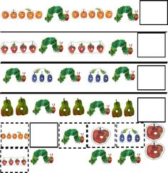 Awesome Free Printables - The Very Hungry Caterpillar Activity Pack Preschool Books, Preschool Themes, Literacy Activities, Preschool Activities, Eric Carle, The Very Hungry Caterpillar Activities, Maternelle Grande Section, Butterfly Life Cycle, Spring Activities