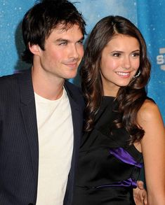 Ian and Nina ❤️ Nian ❤️ Bonnie And Jeremy, Damon And Bonnie, Ian And Nina, Elena Damon, Damon And Stefan, The Vampire Diaries 3, Vampire Diaries The Originals, Kol And Davina, Stefan And Caroline