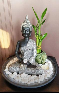 Image Zen, Reiki Room, Buddha Decor, Angel Crafts, Bottle Garden, Bohemian House, Healing Meditation, Back Patio, Decoration