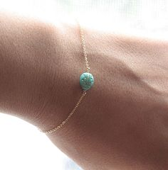 Lady Bug Braccelet Delicate Gold Filled Bracelet by BijouxbyMeg, $18.00