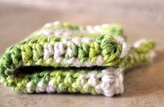 mama's little monkeys....: Free Crochet Pattern--Easy Washcloth/Dishcloth