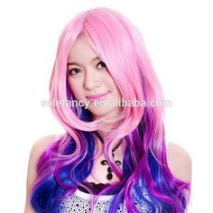 Wholesale cheap colorful synthetic party wig QWPG-1069, View synthetic wig , YIWU FANCY Product Details from Yiwu Fancy Garment Factory on Alibaba.com